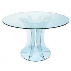 Round Glass Table
